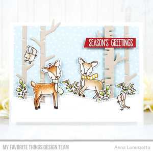 MY FAVORITE THINGS METAL DIE CUTS BIRCH TREES (IN STOCK)