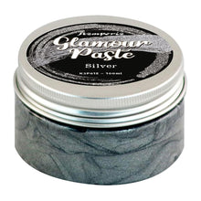 "Load image into Gallery viewer, STAMPERIA GLAMOR PASTE ""SILVER"" 100 MLS (PRE-ORDER)"