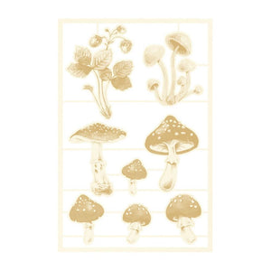 "P13 FOREST TEA PARTY 4""X6"" CHIPBOARD EMBELLISHMENTS #3 (IN STOCK)"