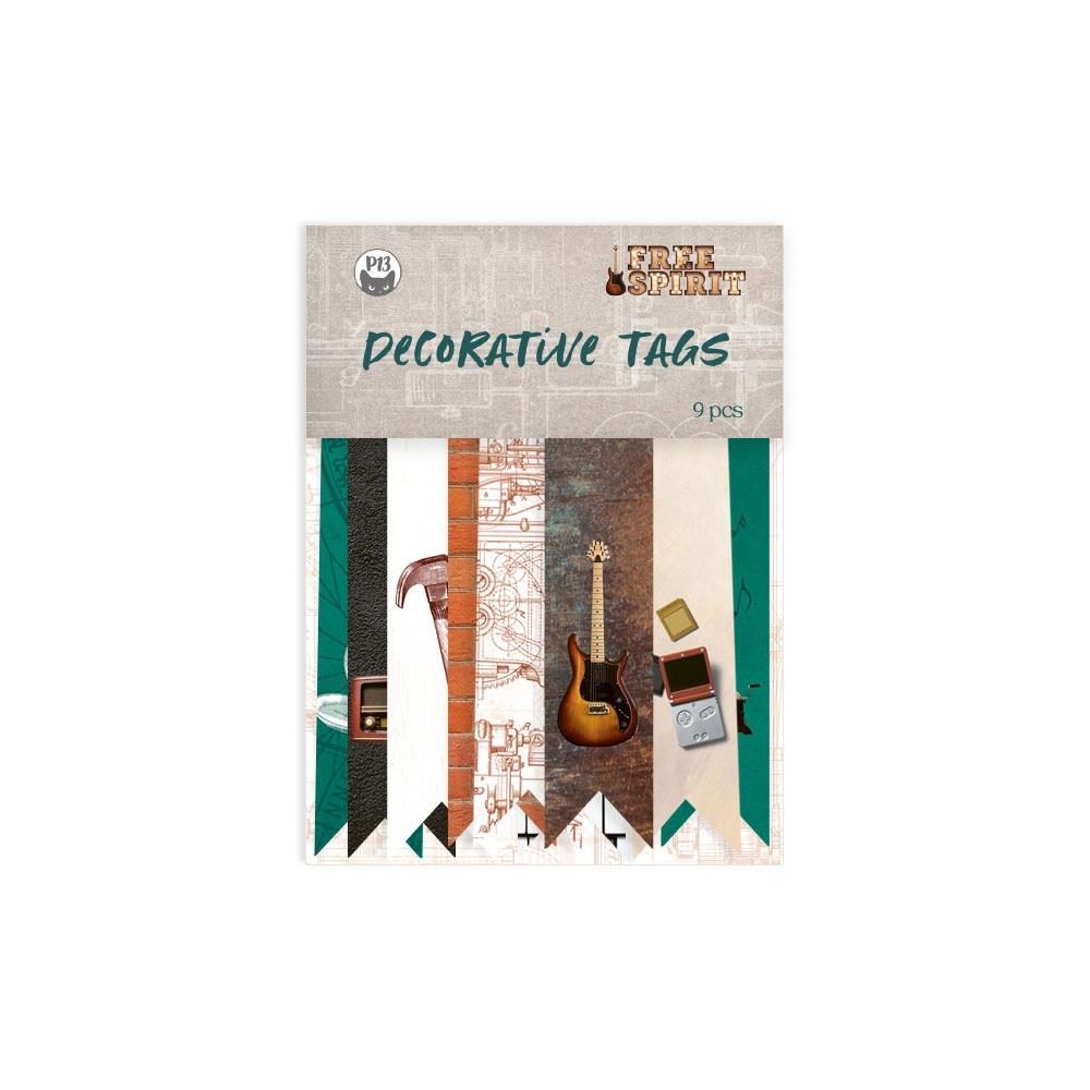 P13 FREE SPIRIT CARDSTOCK TAGS BANNERS (IN STOCK)