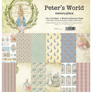 "MEMORY PLACE PETER'S WORLD 12""X12"" PAPER PACK 12 SHEETS (PRE-ORDER)"