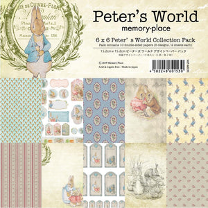 "MEMORY PLACE PETER'S WORLD 6""X6"" PAPER PACK 10 SHEETS (PRE-ORDER)"