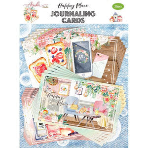 ASUKA STUDIO HAPPY PLACE JOURNAL CARD PACK (PRE-ORDER)