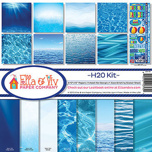 "ELLA & VIV 12X12"" COLLECTION PACK H2O (HAS TO BE ORDERED)"