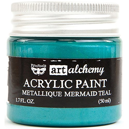 PRIMA ACRYLIC PAINT METALLIQUE MERMAID TEAL (HAS TO BE ORDERED)