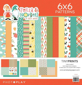 "PHOTO PLAY TULLA & NORBERT 12""X12"" QUAD PACK 6'X6"" PATTERNS (IN STOCK)"