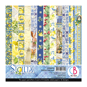 "CIAO BELLA 6""X6"" COLLECTION PACK ""SILICIA"" (IN STOCK)"