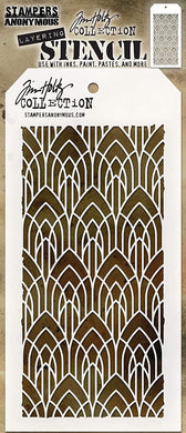 TIM HOLTZ STAMPER'S ANONYMOUS LAYERING STENCIL DECO ARCH (IN STOCK)