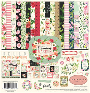 "CARTA BELLA BOTANICAL GARDEN 12""X12"" COLLECTION PACK (HAS TO BE ORDERED)"
