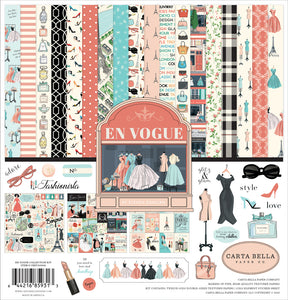 "CARTA BELLA EN VOGUE 12""X12"" COLLECTION PACK (HAS TO BE ORDERED)"