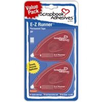 SCRAPBOOK ADHESIVES E-Z RUNNER DOUBLE SIDED TAPE (SALE) (IN STOCK)