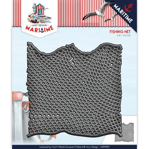 FIND IT TRADING AMY DESIGN METAL DIE CUT MARITIME FISHING NET (IN STOCK)
