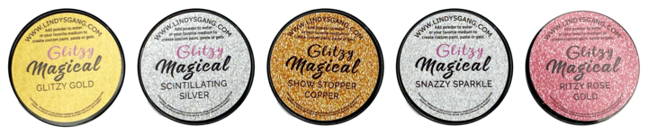 DIRECT BUY LINDY'S MAGICAL GLITZY POWDERS SET (IN STOCK)