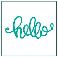 "DIRECT BUY GINA K METAL DIE CUT ""HELLO"" (IN STOCK)"