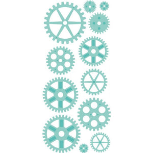 KAISERCRAFT METAL DIE CUTS MINI COGS (IN STOCK)