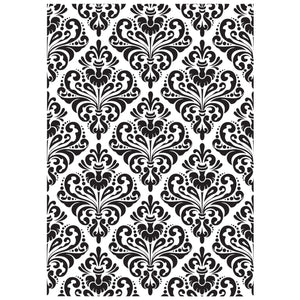 KAISERCRAFT EMBOSSING FOLDER DAMASK (CLEARANCE)