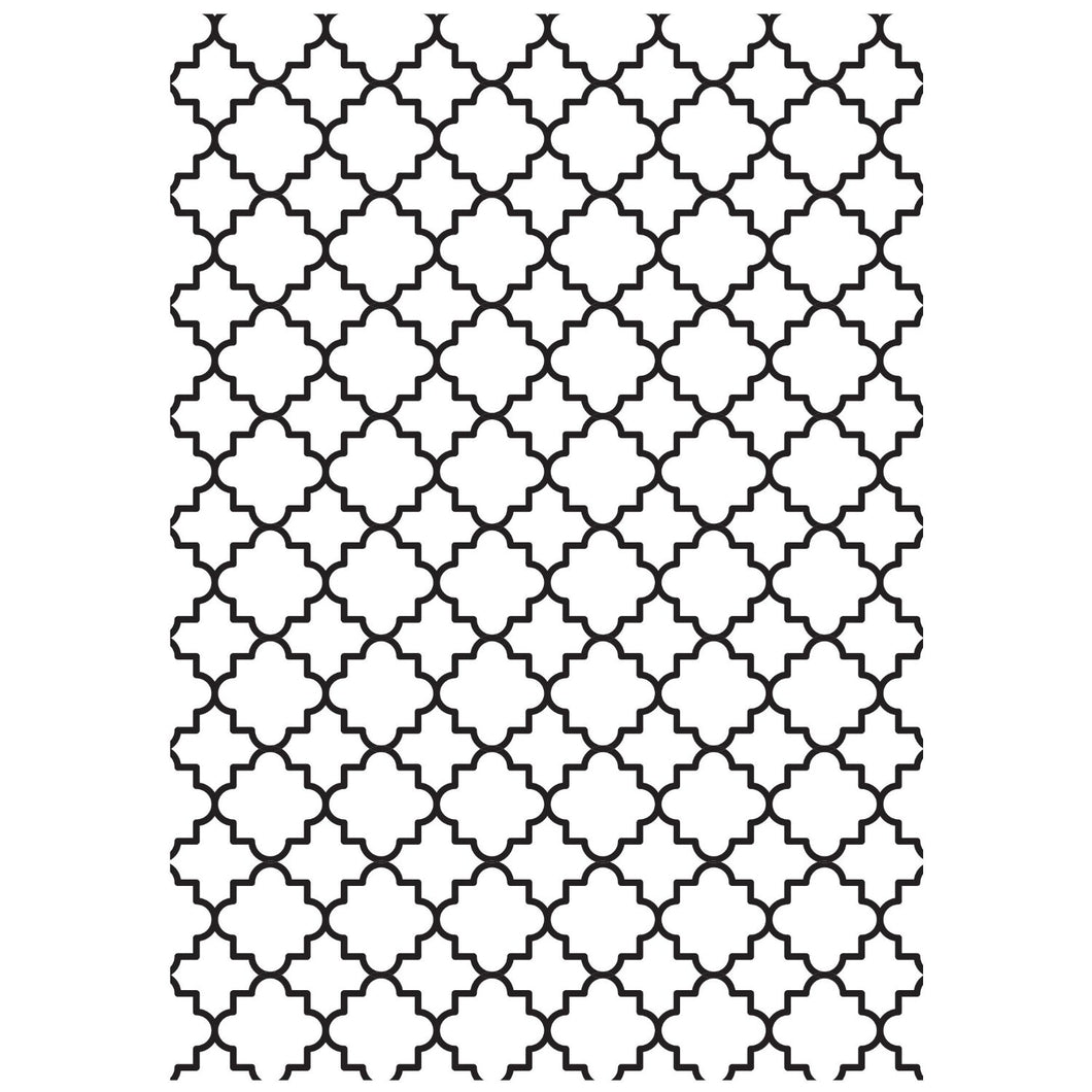 KAISERCRAFT EMBOSSING FOLDER LATTICE (CLEARANCE)