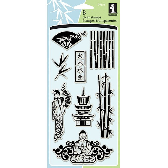 INKADINKADO CLEAR STAMPS ASIAN INFLUENCES (CLEARANCE)