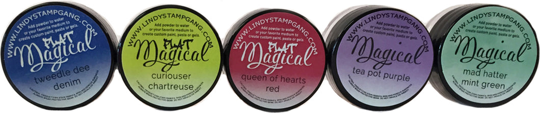 DIRECT BUY LINDY'S MAGICAL SHIMMER POWDERS SET MAD HATTER (HAS TO BE ORDERED)