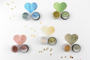 DIRECT BUY LINDY'S MAGICAL SHIMMER POWDERS SET MERMAID SEASHELLS (IN STOCK)