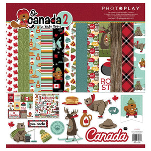 "PHOTO PLAY O CANADA 2 12""X12"" COLLECTION PACK (HAS TO BE ORDERED)"