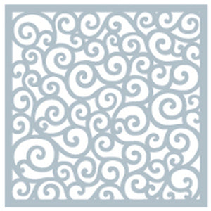 DIRECT BUY GINA K DESIGNS STENCIL ROUNDED SWIRL (HAS TO BE ORDERED)