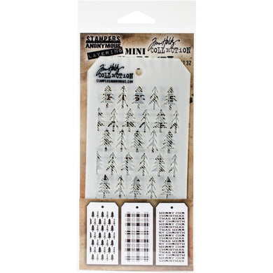 TIM HOLTZ STENCILS SET #32 (HAS TO BE ORDERED)