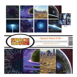 "REMINISCE 12""X12"" COLLECTION PACK SPACE WARS 2 (IN STOCK)"