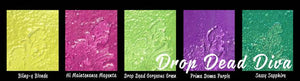 DIRECT BUY LINDY'S TWO TONE EMBOSSING POWDERS SET DROP DEAD DIVA (HAS TO BE ORDERED)
