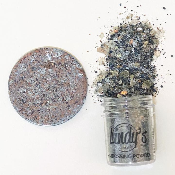 DIRECT BUY LINDY'S CHUNKY EMBOSSING POWDERS DON'T SCREAM AQUAMARINE (IN STOCK)