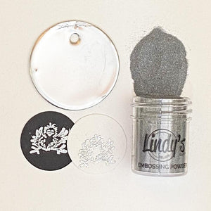 DIRECT BUY LINDY'S DETAIL EMBOSSING POWDERS SLAM DUNK SILVER (HAS TO BE ORDERED)