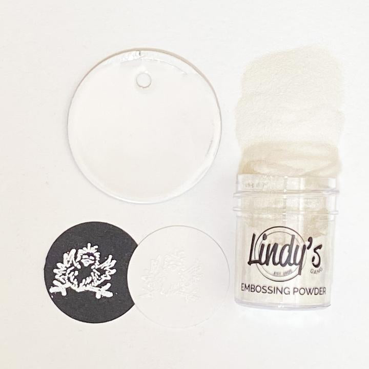 DIRECT BUY LINDY'S DETAIL EMBOSSING POWDERS WOWZERS WHITE (HAS TO BE ORDERED)