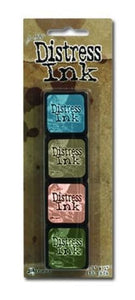 TIM HOLTZ MINI DISTRESS INK PADS KIT #9 (HAS TO BE ORDERED)