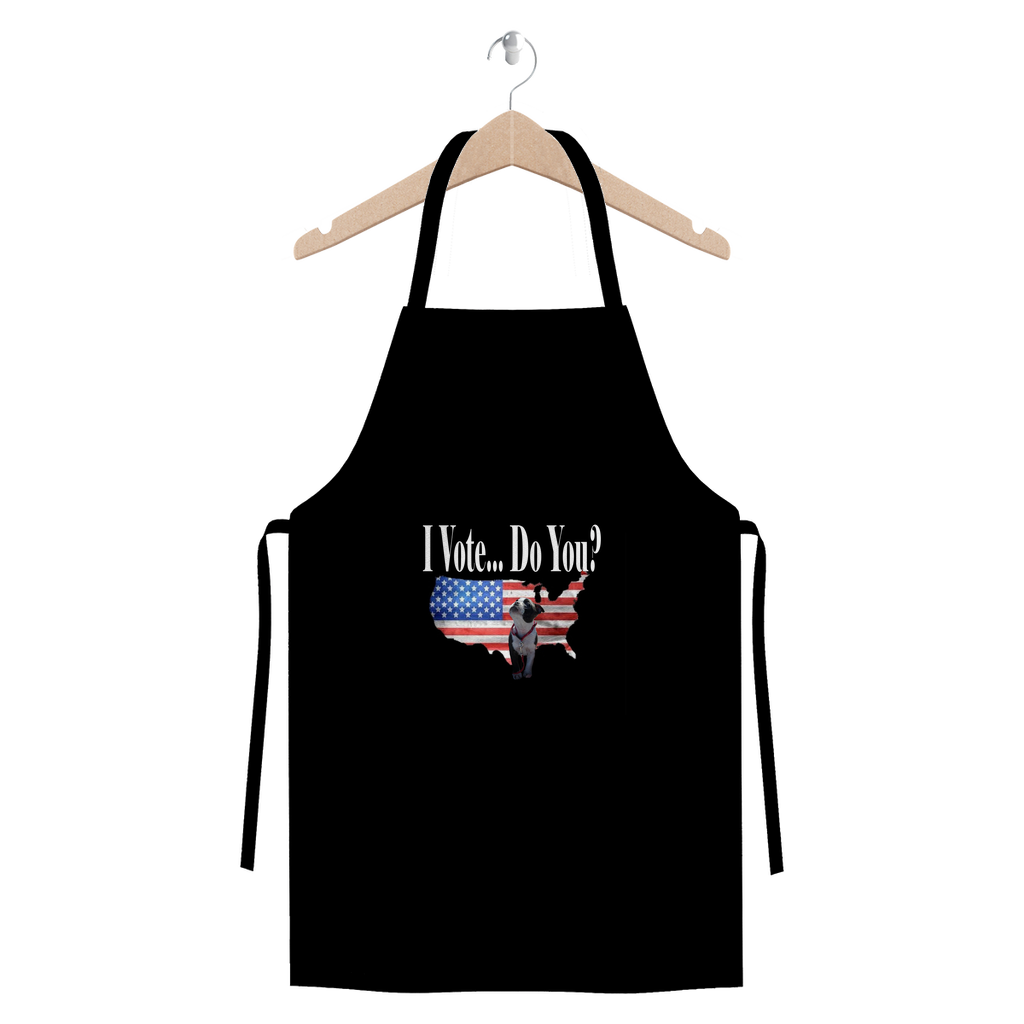 I Vote... Do You?  Exclusive Design Apron