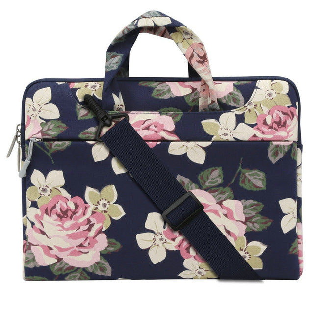 Bohemian Floral Designer Computer Shoulder Bag - Three Sizes to Choose From.  SUPER SALE GOING ON NOW!