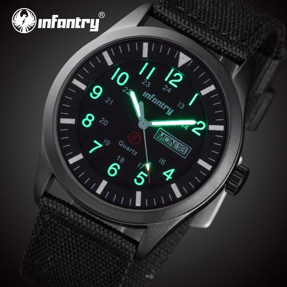 The watch he might never want to take off. Sleek, Simple and Glow in the dark!