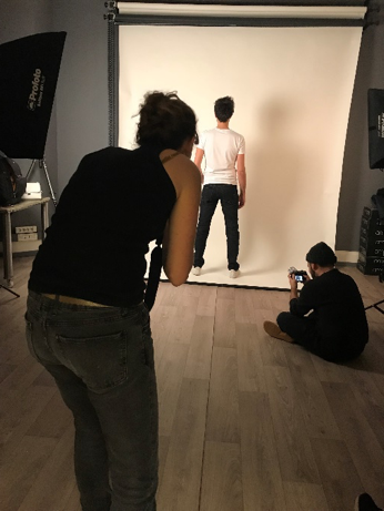 Backstage - shooting produit - LeBeauJean.fr