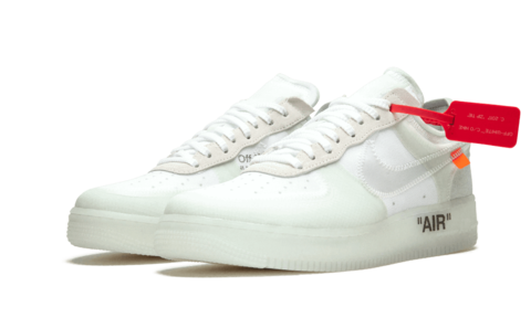 The official images of Nike Air Force 1 x Off White