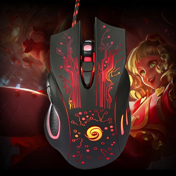 Pro Wired Gaming Mouse - Buy 2 Get 1 FREE