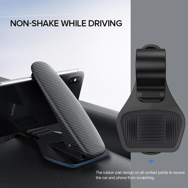 Easy Clip It Dashboard Car Phone Holder Oh-Some Gadget