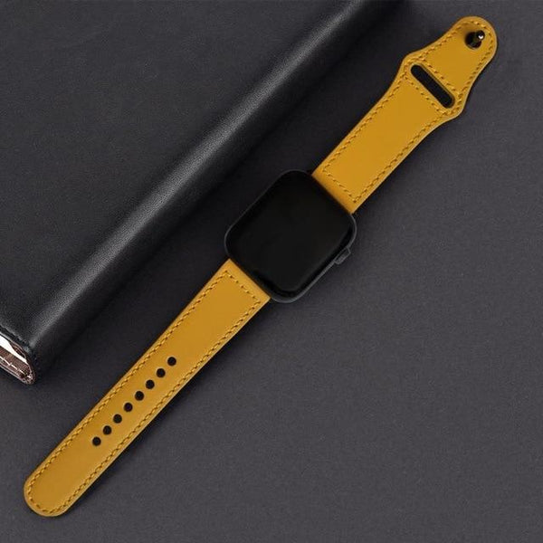 OhSome Genuine Leather Band For Apple Watch Oh-Some Gadget