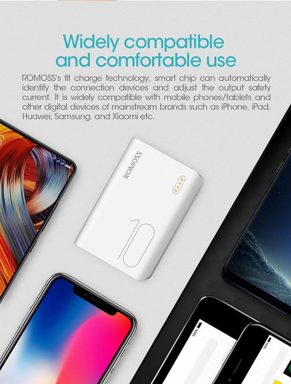 Pocket Sized Fast Charge Powerbank 10000mAh Oh-Some Gadget