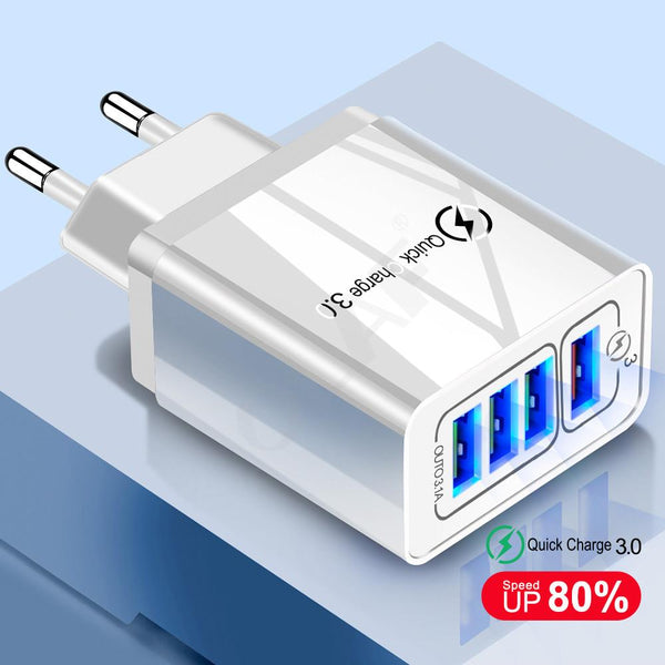 Quick Charge 3.0 USB Plug Adapter Oh-Some Gadget