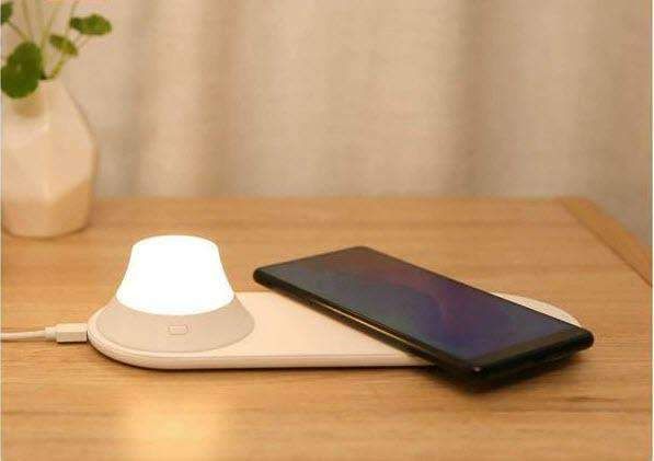 Wireless Fast Charger with Night Light Oh-Some Gadget