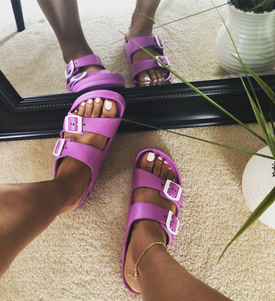 Pretty In Purple Slides