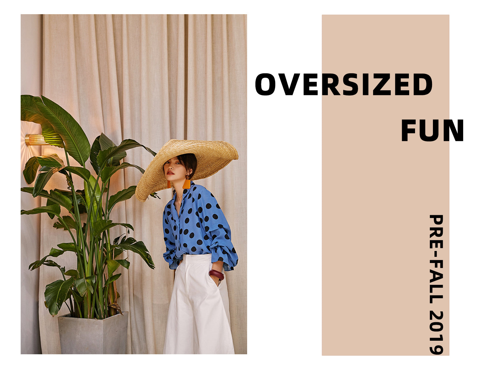 pre-fall 2019 collection - oversized fun
