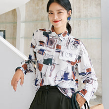 Load image into Gallery viewer, Scrawl printed shirt