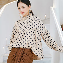 Load image into Gallery viewer, Dots printed cropped top