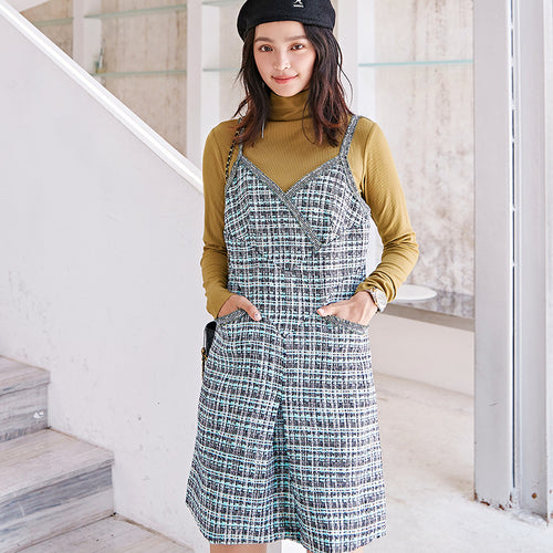 Tweed mini dress