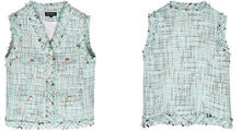Load image into Gallery viewer, Retro tweed vest